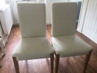 2 Ikea Henriksdal Chairs