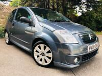 2008/08 REG CITROEN C2 16v ** FULL LEATHER +ALLOYS ** £1795