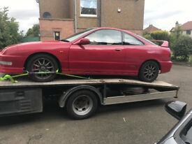honda integra dc2 type r breaking b18c6 parts eg ukdm 98 spec s80