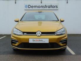 Volkswagen Golf R-LINE TDI BLUEMOTION TECHNOLOGY DSG (yellow) 2017-10-18