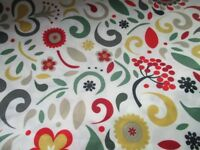 BRAND NEW IKEA FLORAL DESIGN SHOWER CURTAIN