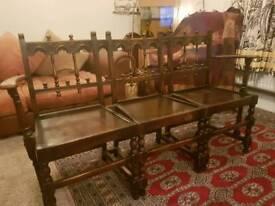Vintage Ercol bench