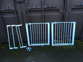 Safety 1st stairgates with extensions
