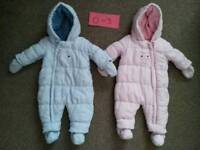 Twin Boy / Girl 0 - 3 Months Mothercare