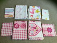 Lovely girl duvet covers set 4x or individually