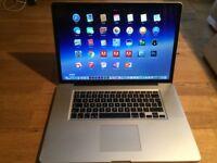 Macbook Pro 17inch,16GB RAM,Core i7,2011