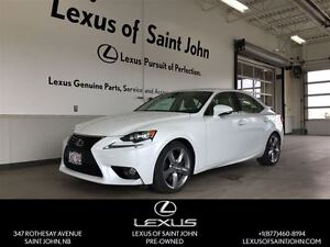 2014 Lexus IS 350 EXECUTIVE PACKAGE! ONE OWNER DEALER SERVICED