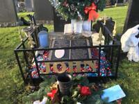 Grave surrounds custom made