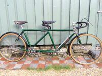 Vintage Bates Grangewood tandem. 1940's Reynolds 531