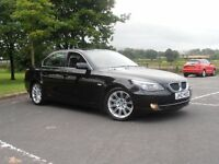 2007 BMW 520D. STUNNING LOOKING CAR . F/S/H, FULL BLACK SPORTS LEATHER