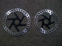 disc brakes rotors 180 & 160 mm set