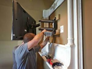 Professional TV Wall Mounting and Installations - Warranted and Insured - Starting at $59.95!!!