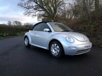 beetle tdi convertible 63k fsh only one former keeper!