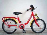 """(2170) 16"""" LIGHTWEIGHT PUKY Z6 Boys Girls Kids Childs Bike Bicycle Age: 5-7 Height: 105-125 cm RED"""