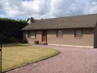 very well presented 3 bed detached bungalow with enclosed garden located in central Inverness