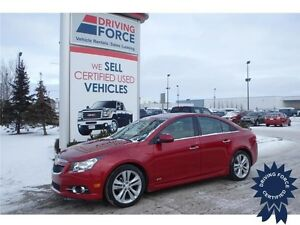 2012 Chevrolet Cruze LTZ Turbo w/1SA, 1.4L 4 Cyl, 106,079 KMs