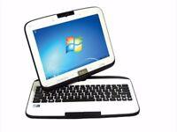 "10"" Touchscreen 2-in-1 Rotating LAPTOP - 64GB SSD - 2GB Ram - Windows 7 - WARRANTY"