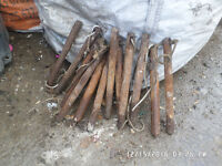 Sash window weights in good condition ,there is 12 all together ,
