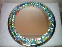Round Marble Mirror