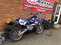 Yamaha yz 125 road legal swap or sale