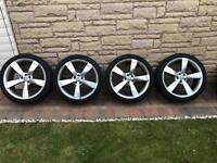 Rotor alloy wheels