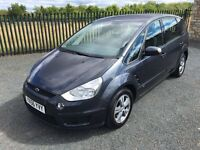 2006 56 FORD S MAX TDCI 6 G ZETEC *DIESEL* 7 SEATER M.P.V - *LOW MILEAGE* - SUPERB EXAMPLE!