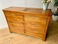 "Oak furniture land ""Orrick"" chest"