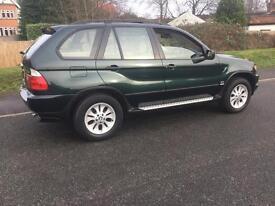 BMW X5 24v (oxford green metallic) 2002