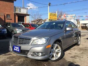 2013 Mercedes-Benz C-Class 300 4MATIC, No Accidents , Leather, S