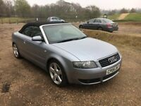 2005 05 AUDI A4 S LINE DIESEL MANUAL , LONG MOT , DRIVES LIKE NEW , LOW MILEAGE, MUST GO TODAY £3100
