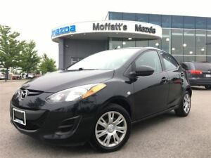 2014 Mazda MAZDA2 GX AUTOMATIC, A/C, POWER WINDOWS/LOCKS/MIRRORS