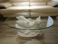 dophine coffee table