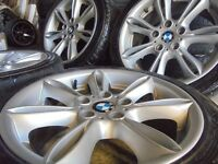 "17"" genuine bmw Alloys Wheels z3 z4 1 3 Series Vw T5 Vauxhall Vivaro traffic 5x120"
