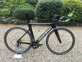 Boardman Elite Air 9.8 Carbon TT Bike Sram Red 22 Vision 3T trek giant