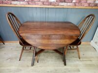 Stunning Vintage Ercol Table and Chair Set