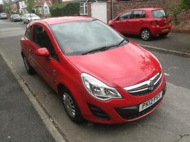 2012 Vauxhall Corsa 1.0 ecoflex s, 12 months mot, £30 a year road tax, 1 previous owner.