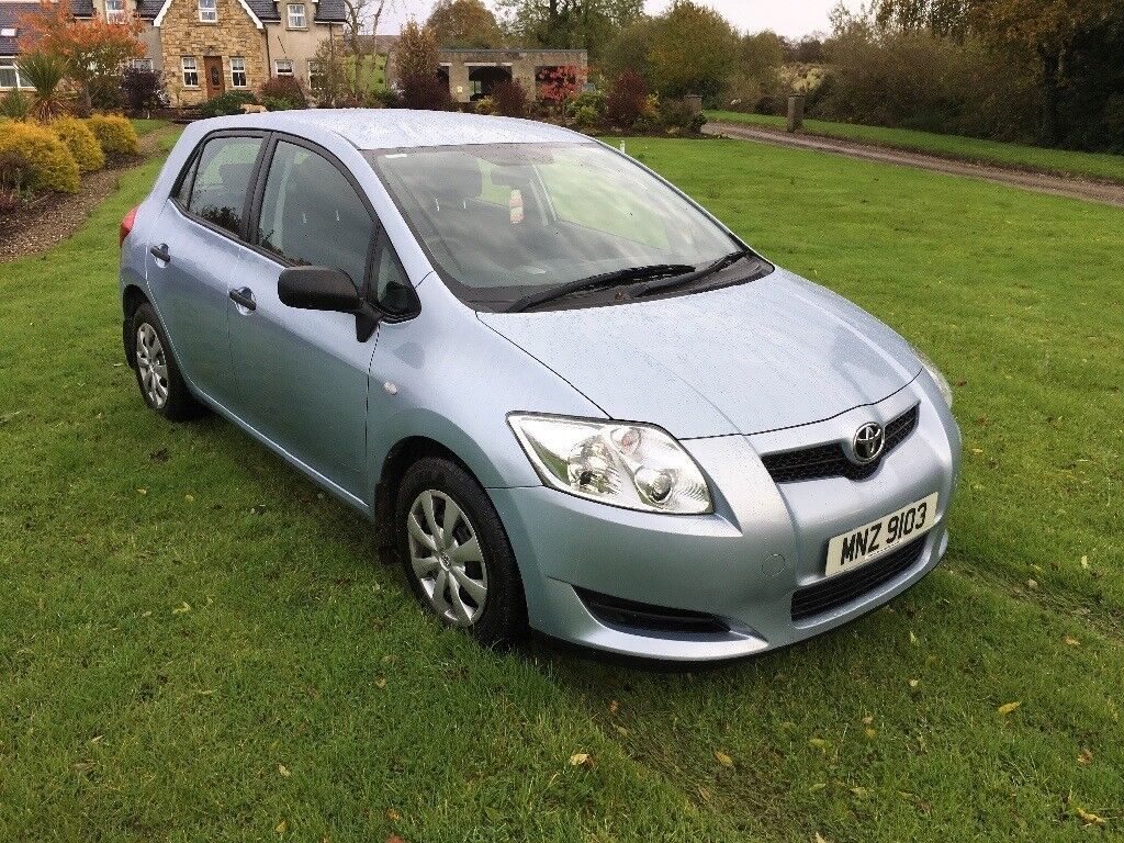 2008 TOYOTA AURIS DIESEL 1.4 D4D T2 BLUE MANUAL ** LOVELY CAR **