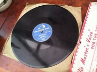 ELVIS PRESLEY HIS FIRST AND THIRD UK 78's