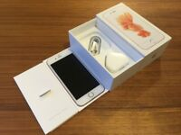 Apple iPhone 6s 16gb Rose Gold Unlocked Fully Boxed *Immaculate Condition*