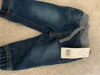 0-1 month baby boy jeans