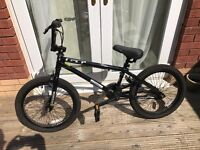 GT Tour BMX All Black - Excellent Hardly Used - Retro