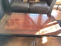 Wooden Living Room Furniture (Tea Table / Big Side Table /Small Side Table)