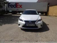 Lexus Ct 200h 200h SE 5dr (white) 2014