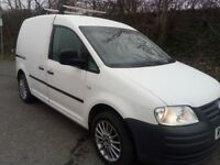VW CADDY VAN 1.9 TDI C20 2X SIDES DOORS NEW MOT
