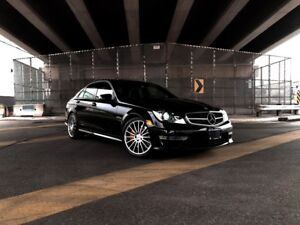 2013 Mercedes-Benz C63 AMG 6.3L V8 With Performance Package ONLY