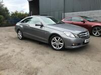 2011 Mercedes-Benz E250 Coupe 2.2 Blue Efficiency Stunning Car! FINANCE AVAILABLE