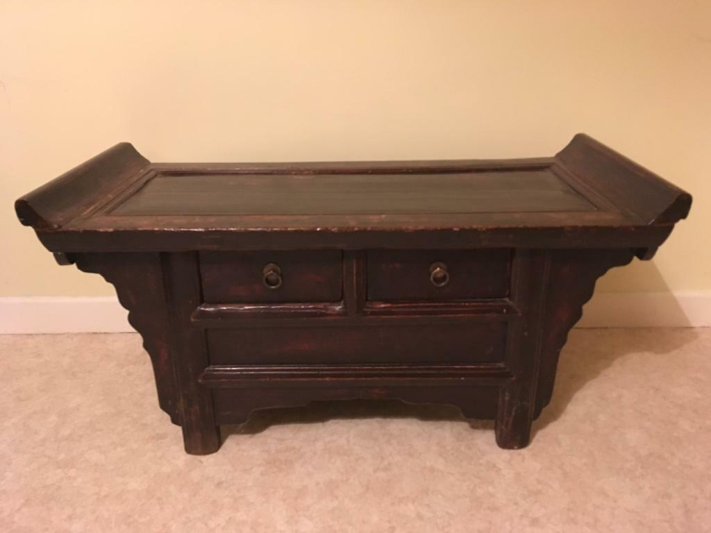 Antique Chinese hallway/coffee table