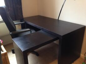 Large Desk and Chair; Clifton, Bristol