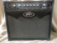 Peavey Vypyr 15 watt combo guitar amplifier.