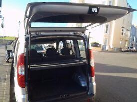 Fiat Doblo Multi-Jet 1.9 Dynamic 2009 Diesel 26,450 miles 2 owners from new 5 seats 12 months MOT